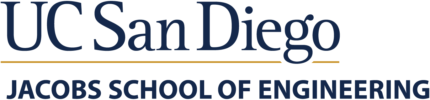 Jacobs School Logo Blue and Gold